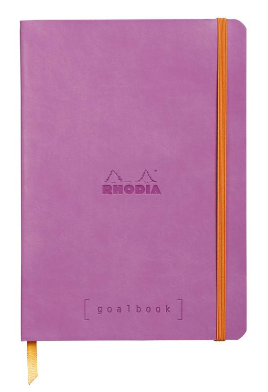 Rhodiarama A5 Goalbook Dot Grid - Lilac