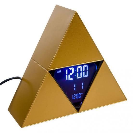 The Legend of Zelda: Triforce Alarm Clock