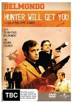 Hunter Will Get You on DVD