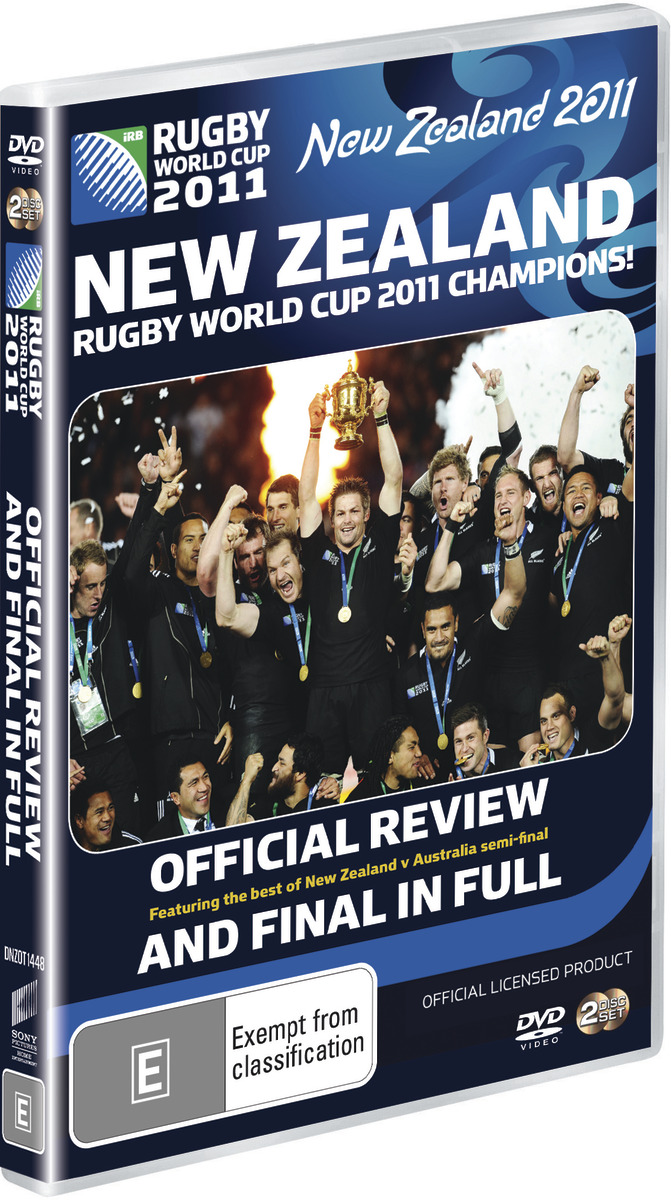 Rugby World Cup Final DVD image