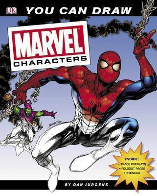 You Can Draw Marvel Characters by Dan Jurgens