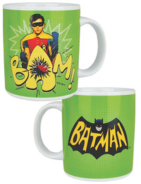 "Classic 1966 Batman TV Series Robin ""Bam!"" Mug"
