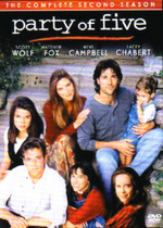 Party Of Five - Complete Season 2 (6 Disc Set) on DVD
