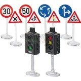 Siku: Road Accessories Traffic Lights and Signs