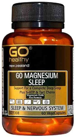 Go Healthy GO Magnesium Sleep (60 Capsules)