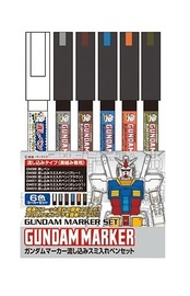 Gundam: Marker Set - Panel Lines Set image