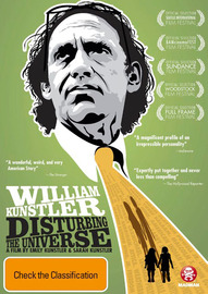 William Kunstler: Disturbing the Universe on DVD
