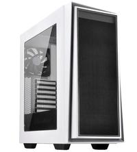 SilverStone RL06WS-W Redline ATX White Mid-Tower Case with Window
