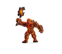 Schleich : Lava Golem with Weapon