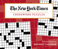 """New York Times Crossword Puzzles 2019 Day-to-Day Calendar by """"The New York Times"""""""