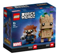 LEGO Brickheadz: Groot & Rocket (41626)