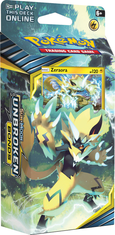Pokemon TCG: Unbroken Bonds -Zeraora Theme Deck