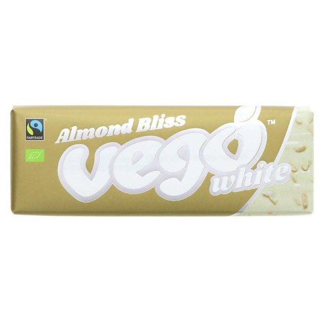 Vego Almond Bliss White Bar 50g