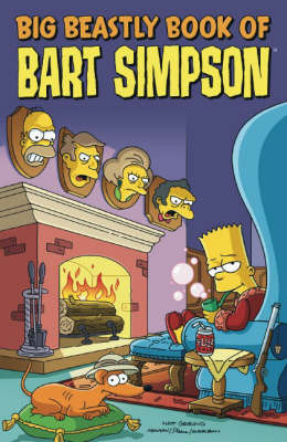 Simpsons Comics Presents the Big Beastly Book of Bart by James W Bates image