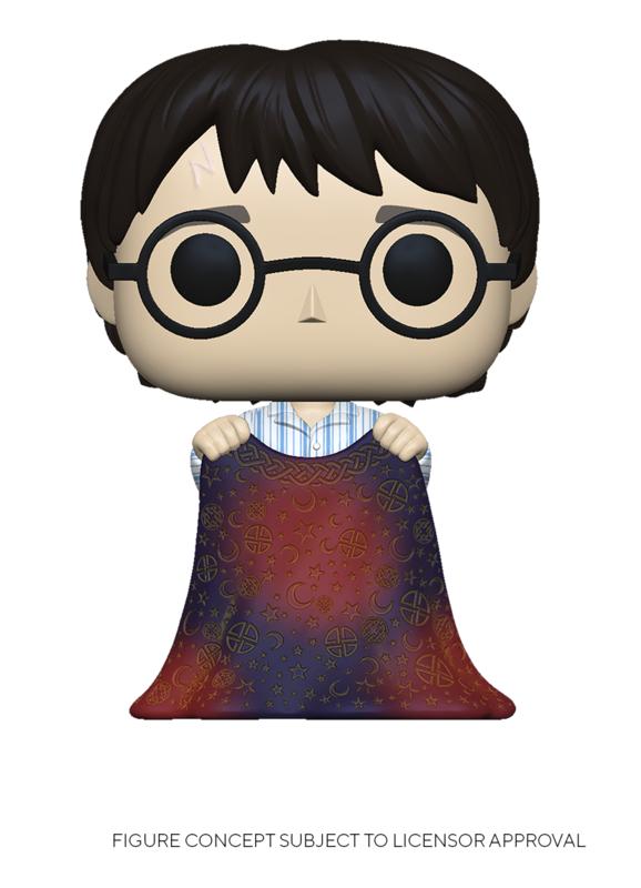 Harry Potter: Harry Potter (With Invisibility Cloak) - Pop! Vinyl Figure
