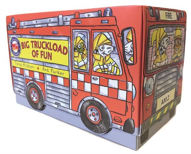 Amazing Machines: Big Truckload of Fun by Tony Mitton