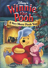 Winnie The Pooh - A Very Merry Pooh Year on DVD