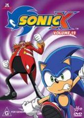 Sonic X - Volume 12 on DVD