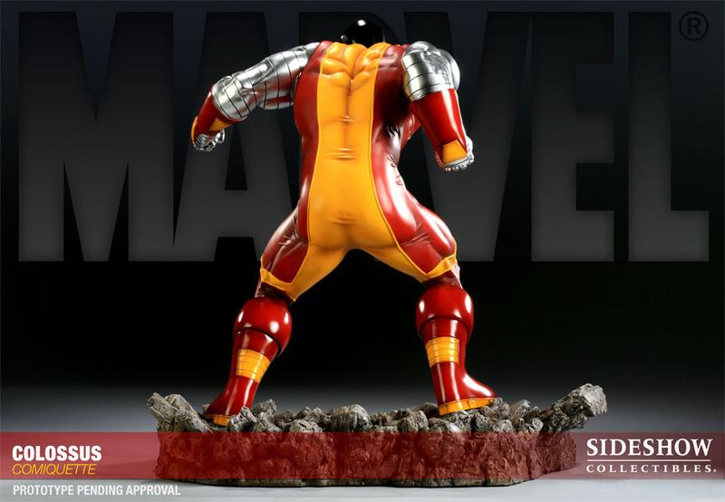 X-Men Colossus Polystone Comiquette Statue image