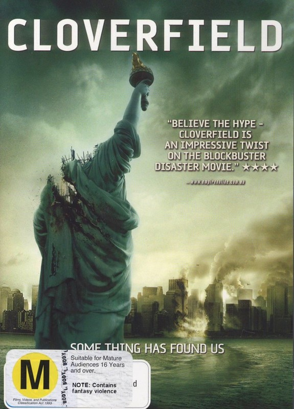 Cloverfield Dvd Buy Now At Mighty Ape Nz
