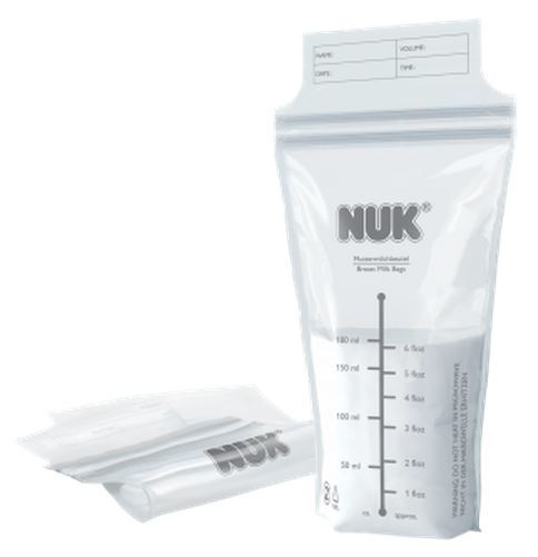 NUK: Breast Milk Bags (25 Pack) image