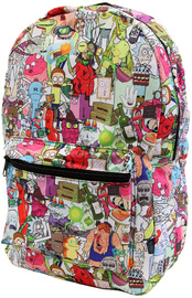 Rick and Morty - Sublimated Backpack