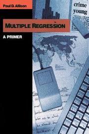 Multiple Regression by Paul D Allison image