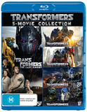 Transformers - 1-5 Boxset on Blu-ray