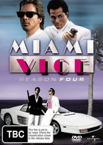 Miami Vice - Season 4 (6 Disc Set) on DVD