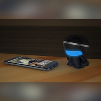 "Xoopar Boy: 3"" Bluetooth Speaker - Matt Black image"