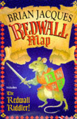 Redwall Map and Redwall Riddler by Brian Jacques