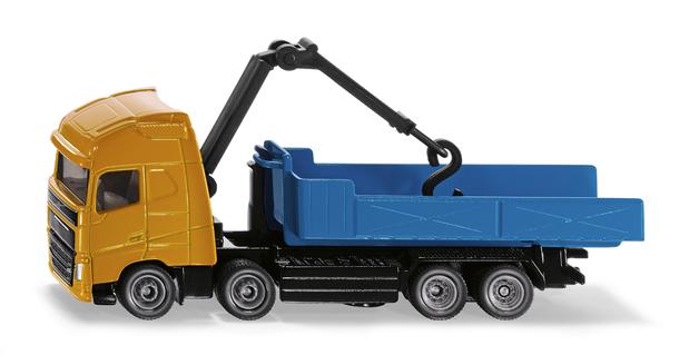 Siku: Volvo Truck w Roll-Off Tipper & Crane