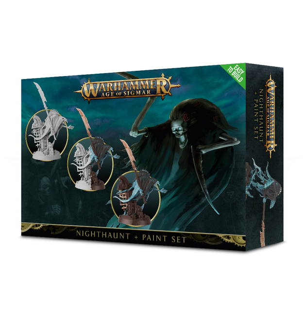 Warhammer Age of Sigmar: Nighthaunt & Paint Set