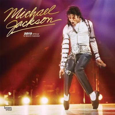Michael Jackson 2019 Square Foil by Inc Browntrout Publishers
