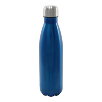 Insulated Stainless Steel Bottle 500ml Gloss Blue
