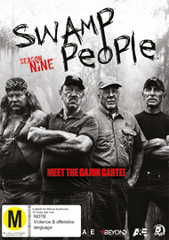 Swamp People: Season 9 on DVD