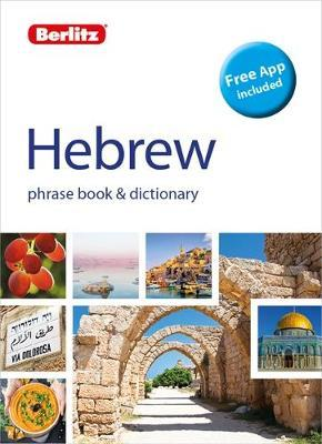 Berlitz Phrase Book & Dictionary Hebrew(Bilingual dictionary) by APA Publications Limited