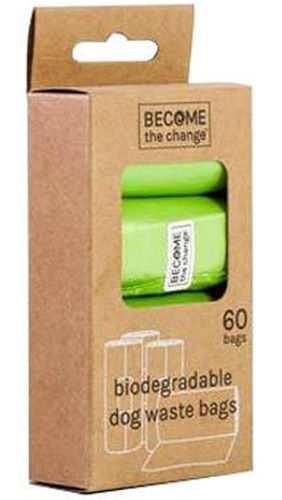 Become The Change: Pet Waste Bags - Biodegradable (4 Rolls) image