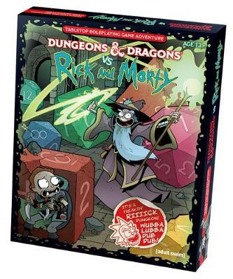 Dungeons & Dragons Vs Rick and Morty (D&d Tabletop Roleplaying Game Adventure Boxed Set) by Wizards RPG Team