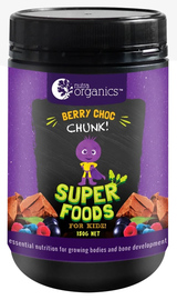 Nutra Organics Superfoods for Kids - Berry Choc Chunk (150g) image