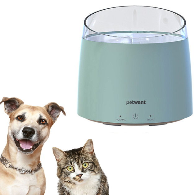 1.5L Automatic Pet Water Dispenser - Green
