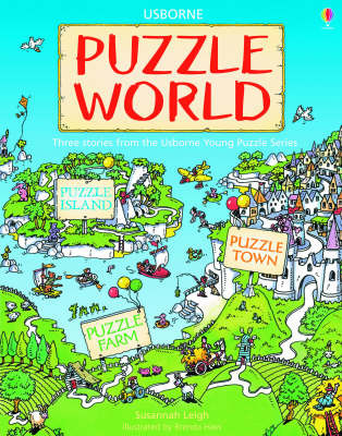 Puzzle World: Island/Farm/Town by Susannah Leigh image