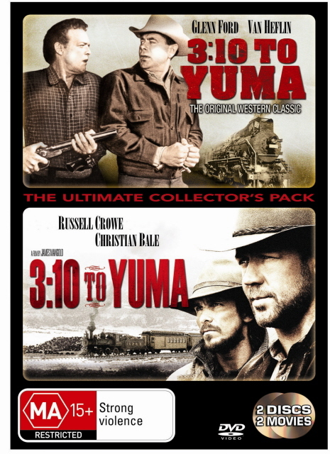 3:10 To Yuma - The Ultimate Collector's Pack (2 Disc Set) on DVD