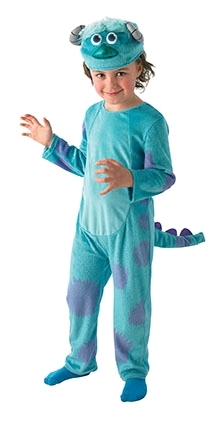 Youth Deluxe Sulley Costume (Medium) image