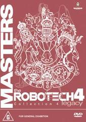 Robotech - Masters: Collection 4 (3 disc boxed set) on DVD