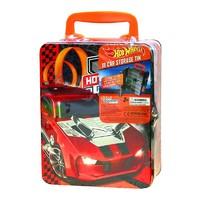 Hot Wheels: 18 Car Storage Tin - Red Car