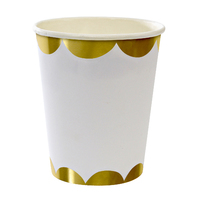 Meri Meri - Gold Party Cups (8 Pack)
