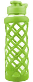 Oasis Glass Water Bottle - Spring Green (700ml)