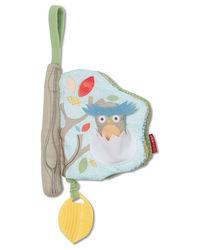 Skip Hop: Treetop Friend Soft Activity Book Grey/Pastel
