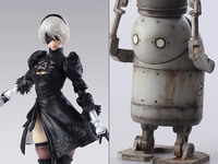 Nier: Automata: 2B & Machine - Bring Arts Figure Set